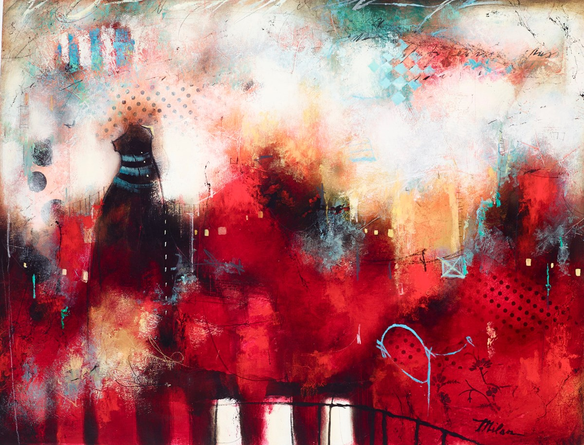 Urban Opus III by john and elli milan -  sized 40x30 inches. Available from Whitewall Galleries